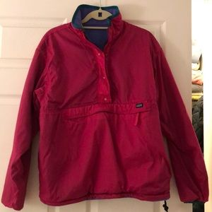 Vintage Patagonia reversible pull over